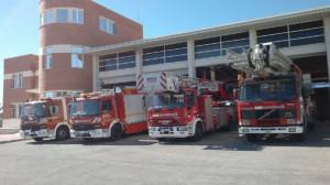 camiones de bombero
